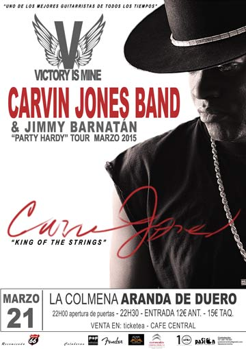 Carvin Jones Band & Jimmy Barnatán