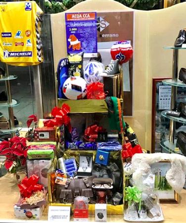 Cesta de Navidad de los comercios de ACOA CCA