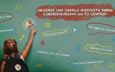 Charlas gratuitas de Ciberseguridad en los Colegios