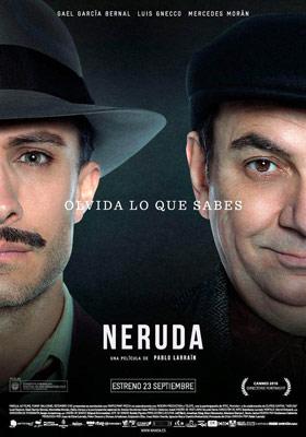 Cartel de la película Neruda