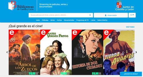 Servicio de visionado en línea de películas, cortometrajes etc...