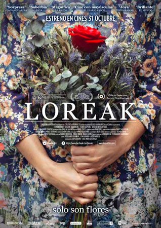 "Cartel de la película ""Loreak"""