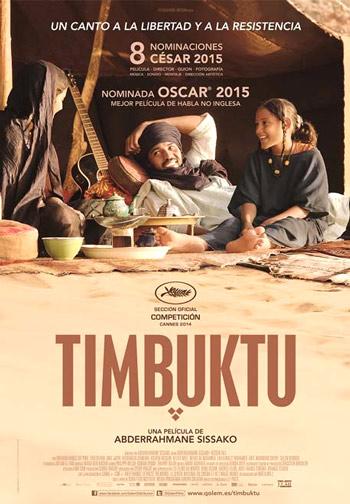 """Cartel de la película """"Timbuktu"""""""