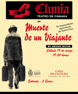 clunia muerte de un viajanr Actividades culturales en Aranda de Duero marzo 2011 (2ª quincena)