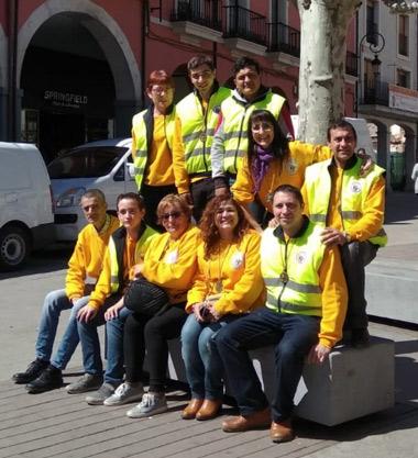 Cofrades voluntarios