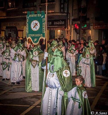 Fotografía: Arturo Sanz Martín | Cofrades de La Oración de Jesús en el Huerto