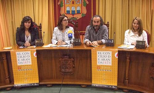 Fotografía: Javier Marqués| Acto de Presentación del Concilio de Aranda 2013