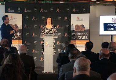 La consejera de Cultura y Turismo, María Josefa García Cirac