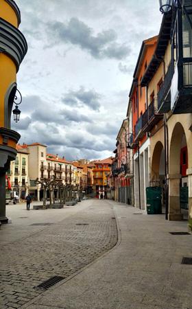 Fotografía: Merche Abad | Plaza Mayor Aranda de Duero