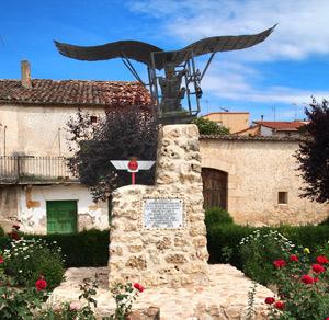 Monumento en honor de Diego Marín Aguilera