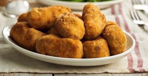 Croquetas de batata y champiñones