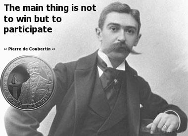 """Coubertin: """"Citius, altius, fortius"""""""
