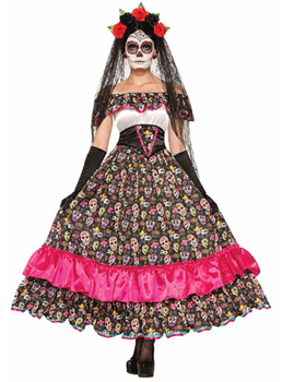 Disfraz Catrina Mexicana