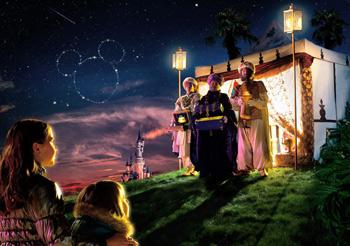 Disneyland Paris. Reyes Magos