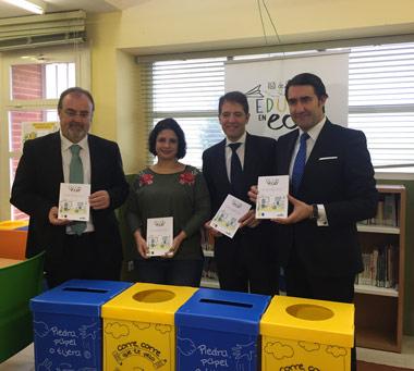 La Junta y Ecoembes apuestan por el reciclaje: 'Red de Colegios EducaEnEco'