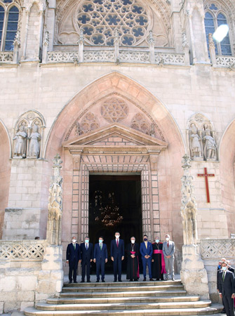 Inauguración en Burgos