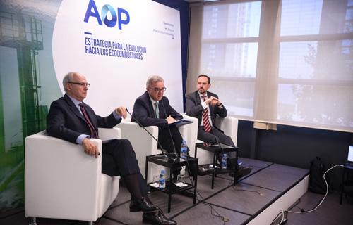 De izquierda a derecha, Andreu Puñet, Luis Aries y Carlos Martín