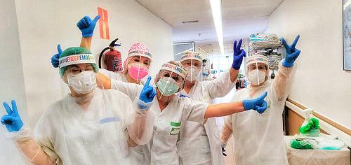 El personal Sanitario de los Santos Reyes: nuestros héroes y heroínas sin capa