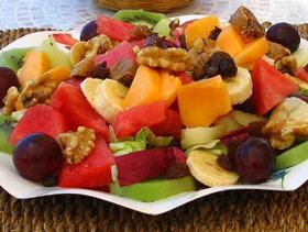 Ensalada de frutas con papaya