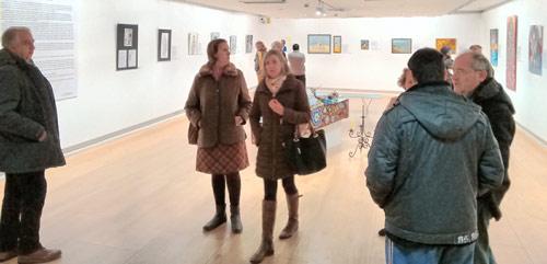 Exposición pictórica del grupo ribereño ARA: 'Cadáver Exquisito'