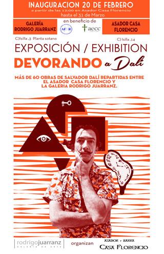 """Exposición """"Devorando Dalí"""""""