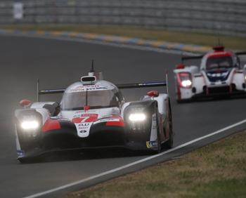 Toyota nº 7 de Conway, Kobayashi y 'Pechito' López