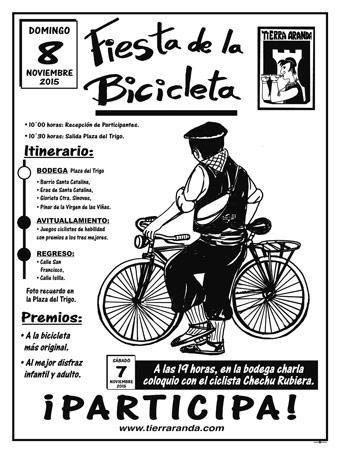 Tierra Aranda Fiesta Bicicleta 2015