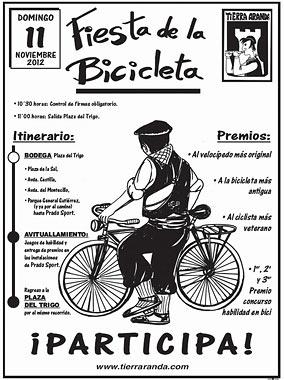Tierra Aranda, Fiesta de la Bicicleta 2012