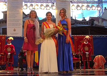 Reina de las Fiestas de Aranda 2012