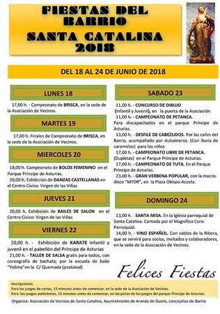 Semana de Fiestas del Barrio de Santa Catalina