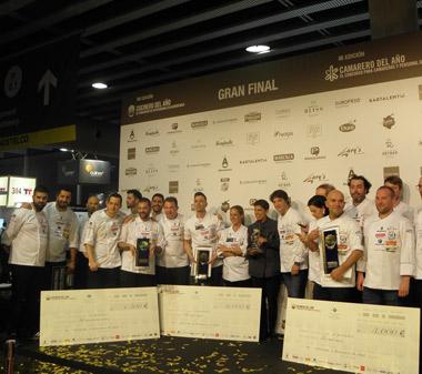 Rubén Osorio Castañón ganador del tercer premio del Concurso Cocinero del Año