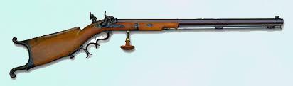 Fusil de época para tiro