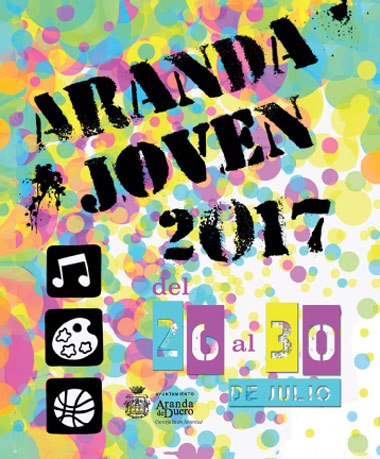 Cartel Aranda Joven 2017