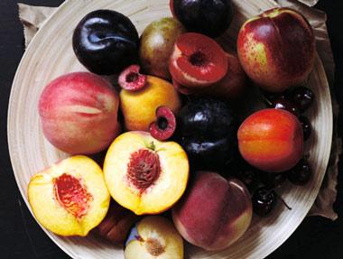 Cocinando con frutas de temporada