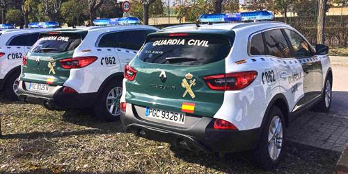 La Guardia Civil adquiere 180 unidades del Renault Kadjar