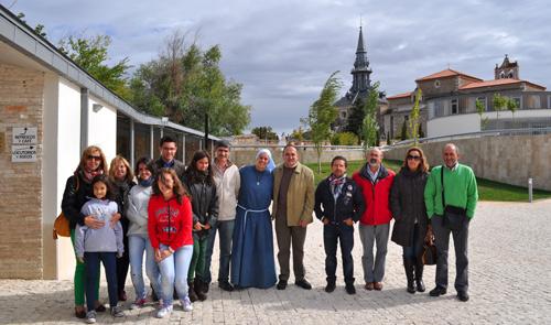 Getsemaní en La Aguilera con antiguos alumnos del colegio Sagrada Familia