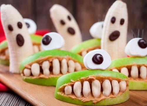 Fantasmas y bocas terroríficas