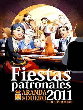 Cartel Fiestas Patronales 2011