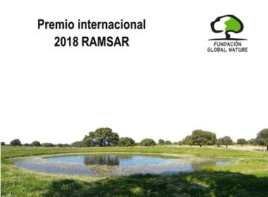 humedales La Fundación Global Nature recibe el premio internacional Ramsar a la Conservación de humedales