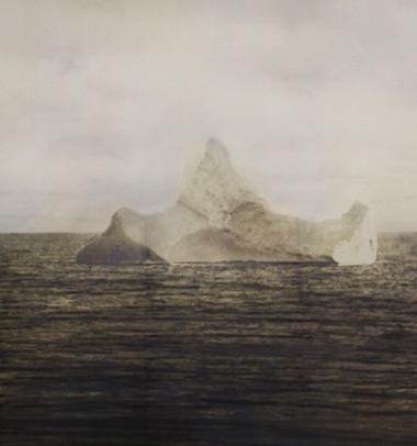 Iceberg contra el que se rozó el Titanic