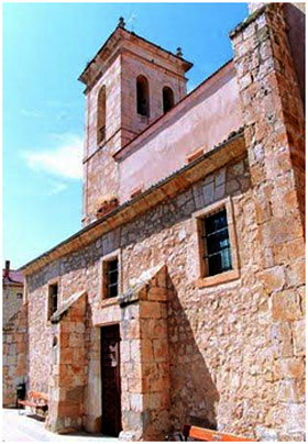 Iglesia de Adrada de Haza