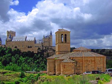 Fotografía: J.Marqués | Alcázar e Iglesia de la Vera Cruz