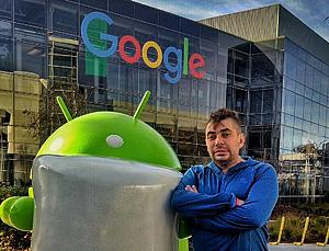 Javier Marqués en Google, Silicon Valley (CA)