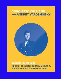 Andrey Yaroshinsky (Piano)