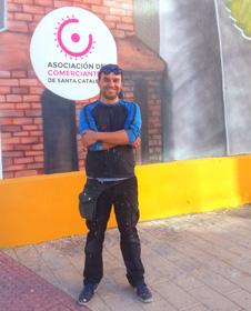 labrador280 Ruta de arte urbano en el barrio de Santa Catalina