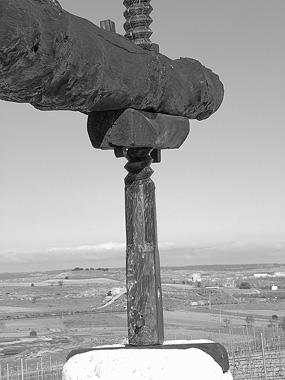Fotografía: Javier Marqués. Viga de Lagar