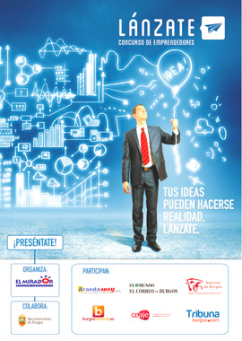Concurso de emprendedores Lánzate Mirador de Burgos