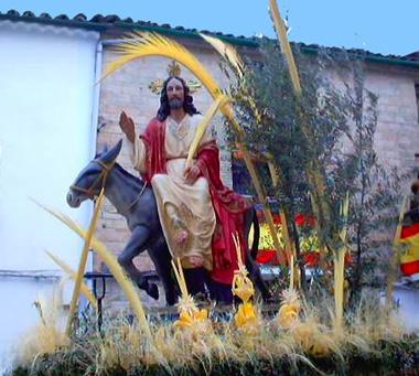 La Semana Santa se inicia el Domingo de Ramos