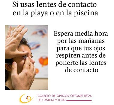 Consejos para el cuidado de las lentes de contacto
