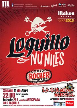 Código Rocker Tour 2015